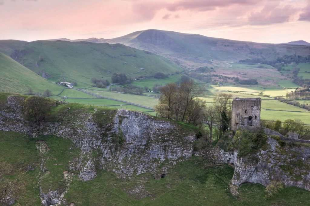Peveril Castle Castleton