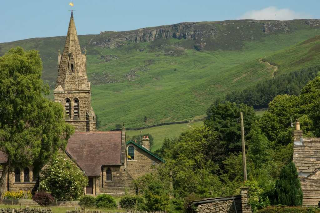 Ordnance Survey study shows Edale as the Number 1 place to start a walk in Great Britain