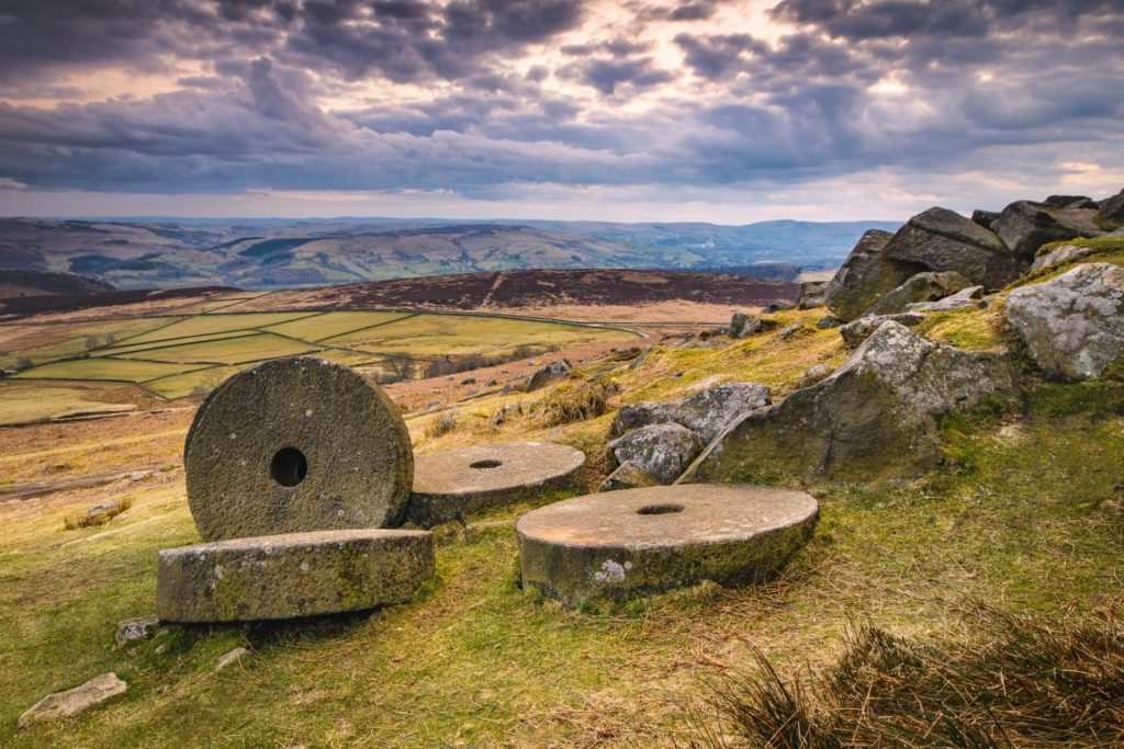 The Intriguing Millstones of the Peak District | Stanage Edge