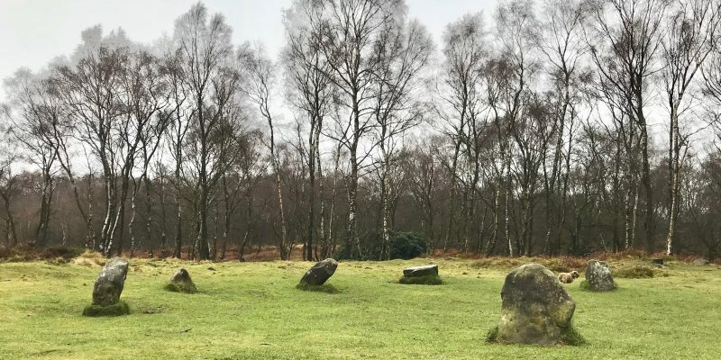 Stanton Moor and Nine Ladies Stone Circle