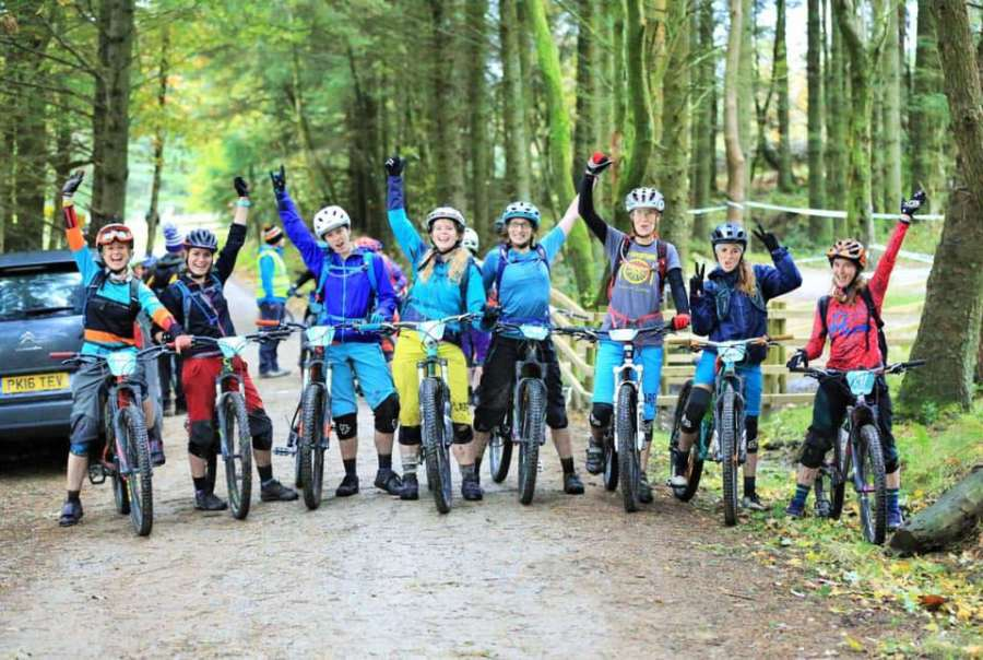 Cafe Adventure Women's Mountain Bike Rides