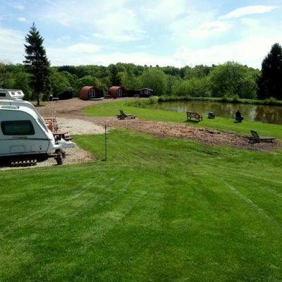 Blackbrook Lodge Caravan, Camping and Glamping Site