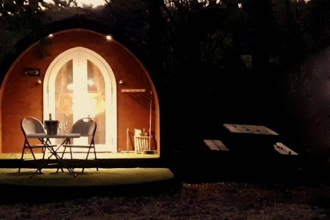 Peak District glamping : Blackbrook Lodge