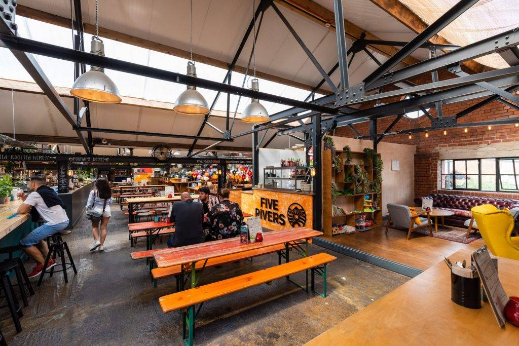 Cutlery Works, food hall in Sheffield