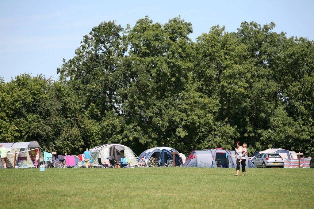 Best Peak District Campsites : Callow Top