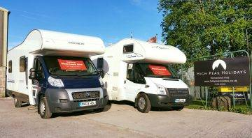 High Peak Holidays Motorhomes