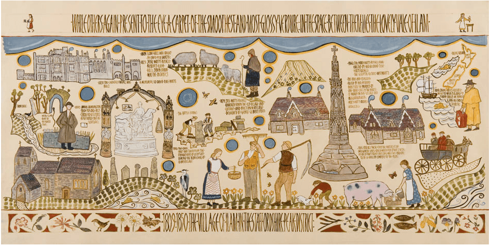 A Peak District Tapestry of organic art and Swedish inspiration 8