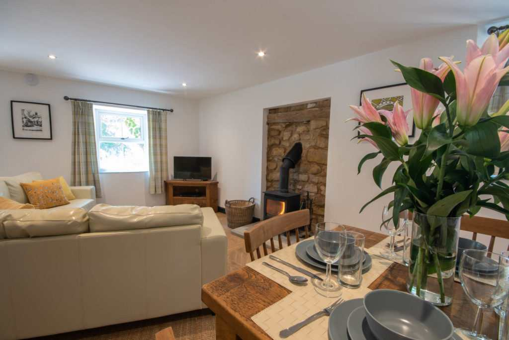 Perfect Peak District Holiday Accommodation : Henmore Cottage