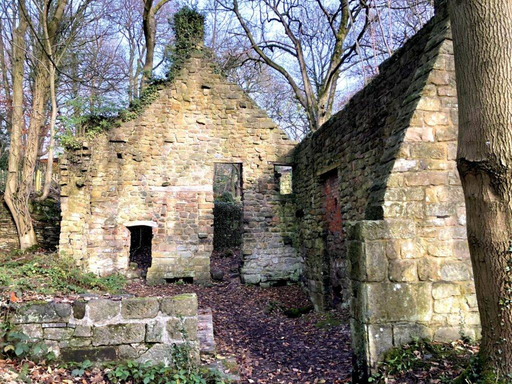 Lumsdale Mill ruin