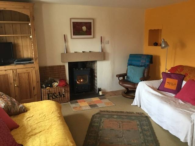 Bramwell cottage living room