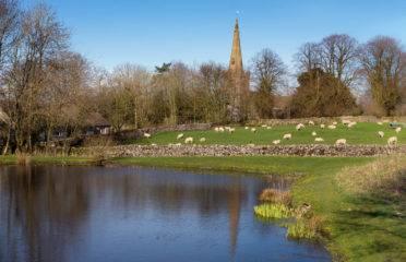 The Village of Monyash in Derbyshire