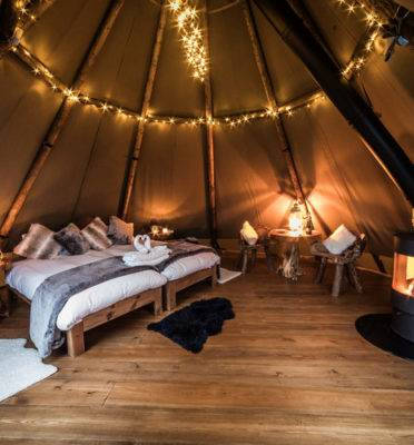 Caravan Sites, Glamping & Camping in the Peak District 13