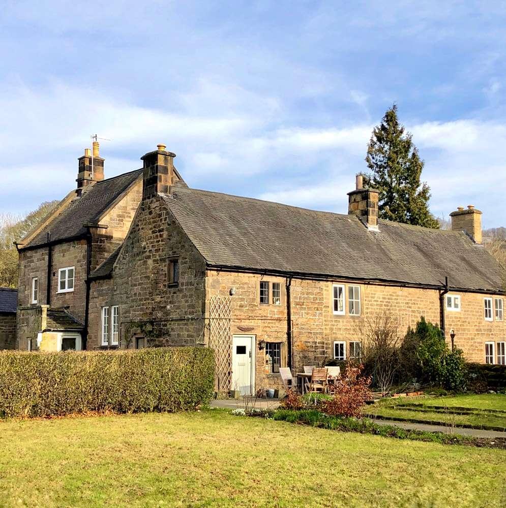 Rowsley village
