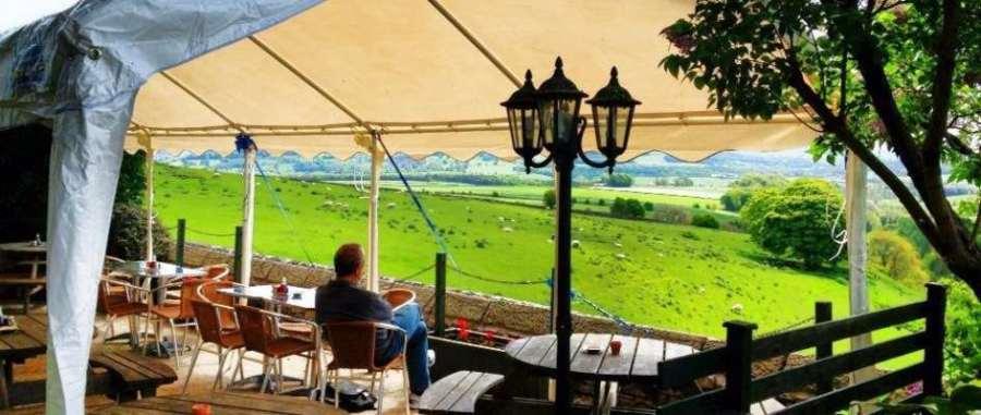 Lathkil Hotel Outdoor Terrace
