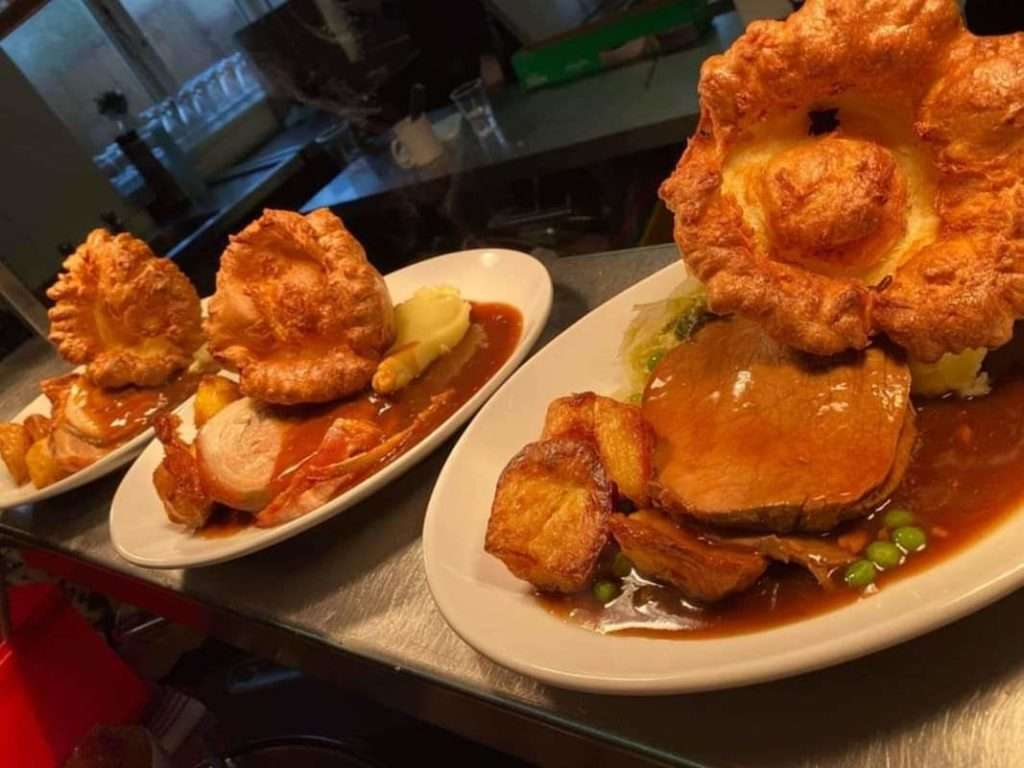 Best Peak District Pubs : Great pub food