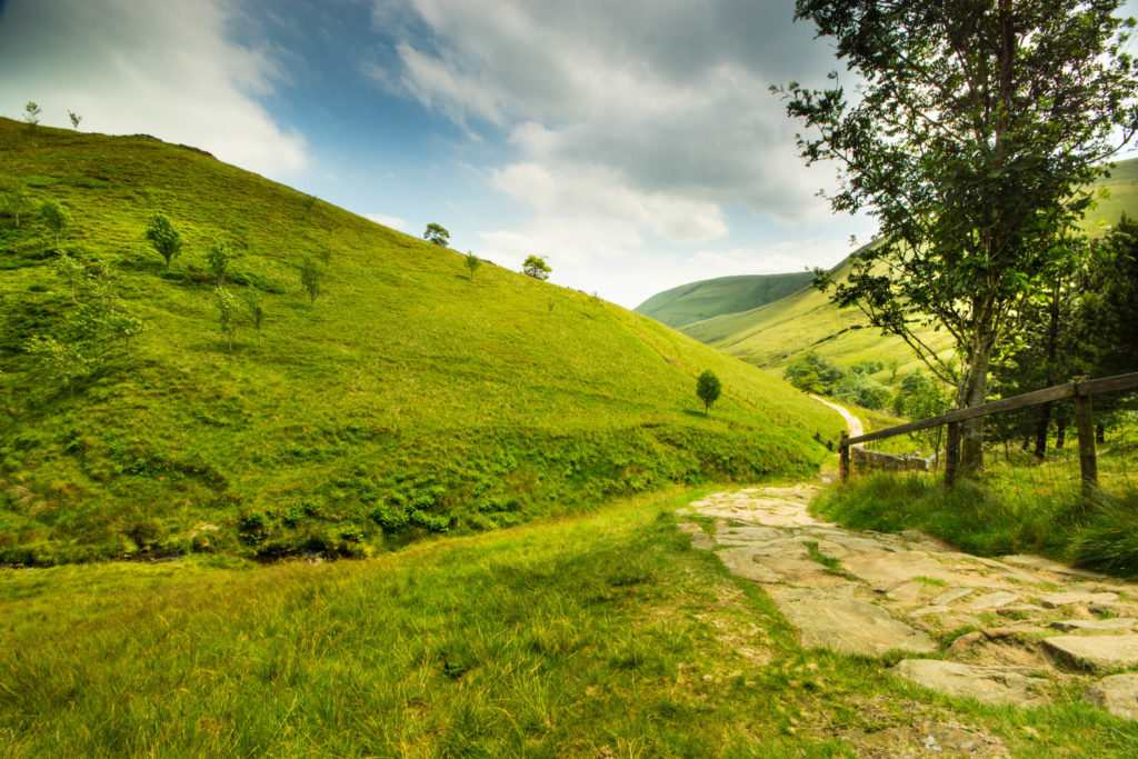 10 Best Days Out in the Peak District : Jacob's Ladder Kinder Scout Edale