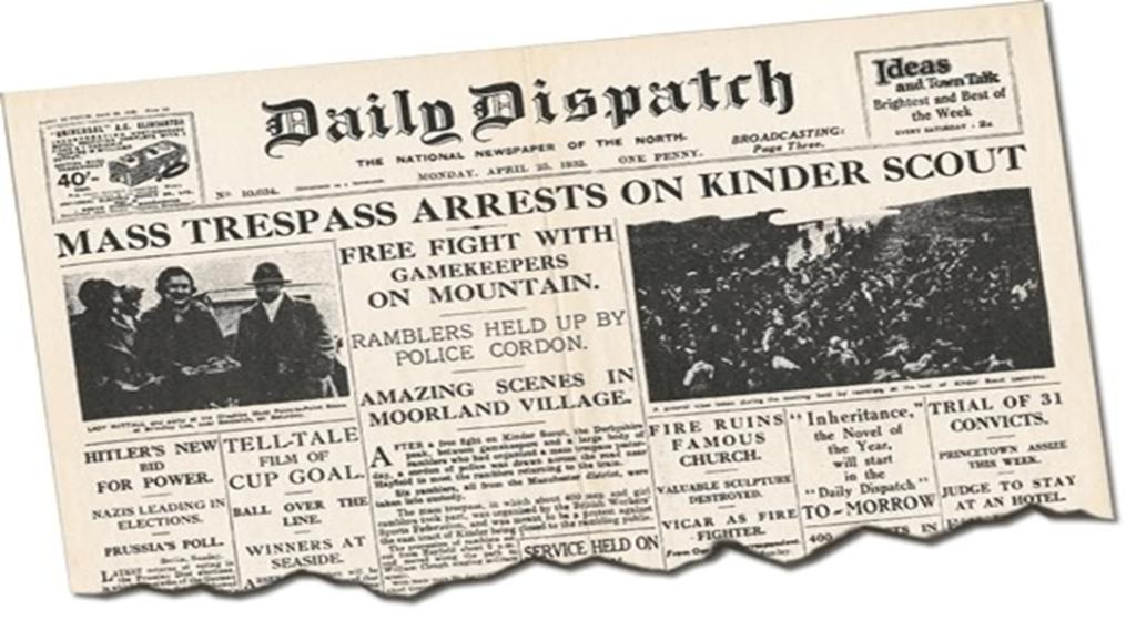 The Kinder Mass Trespass 1