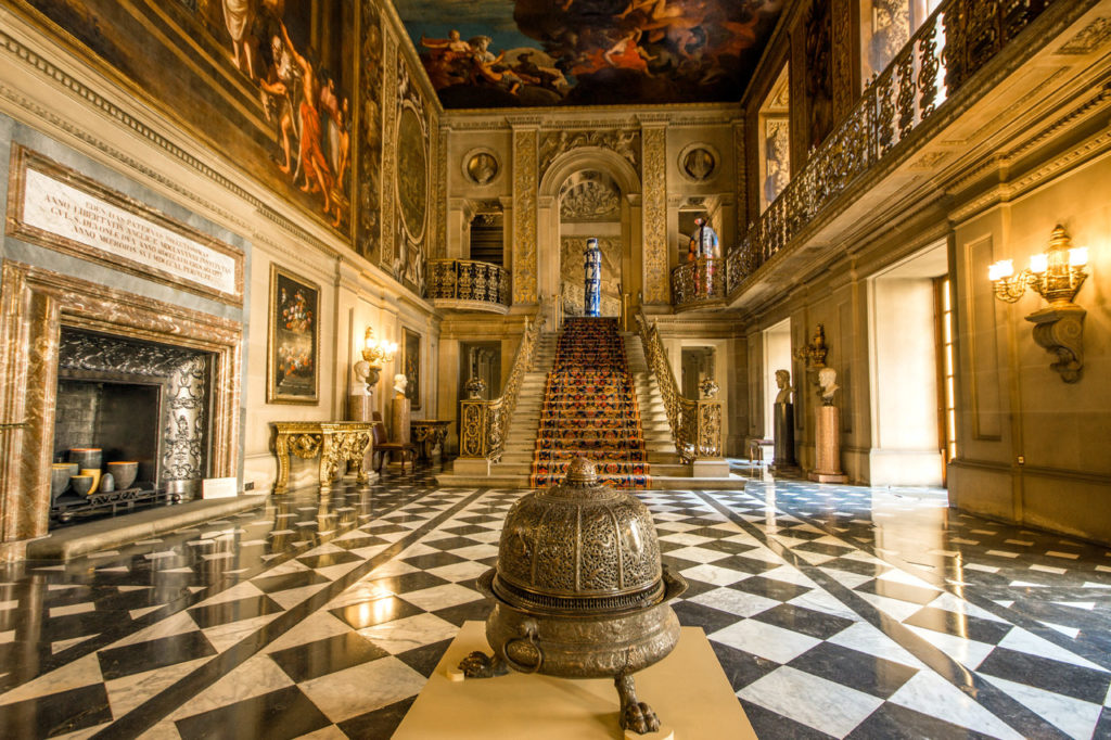 Chatsworth House Painted Hall