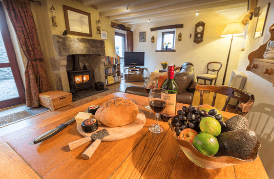 Peak District Cottages : Curlew Cottage, Great Hucklow