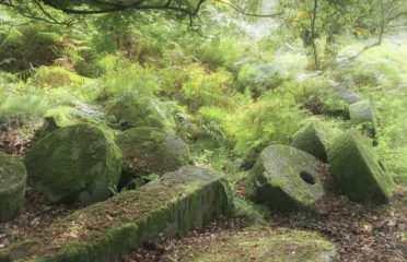 Iconic Peak District Millstones