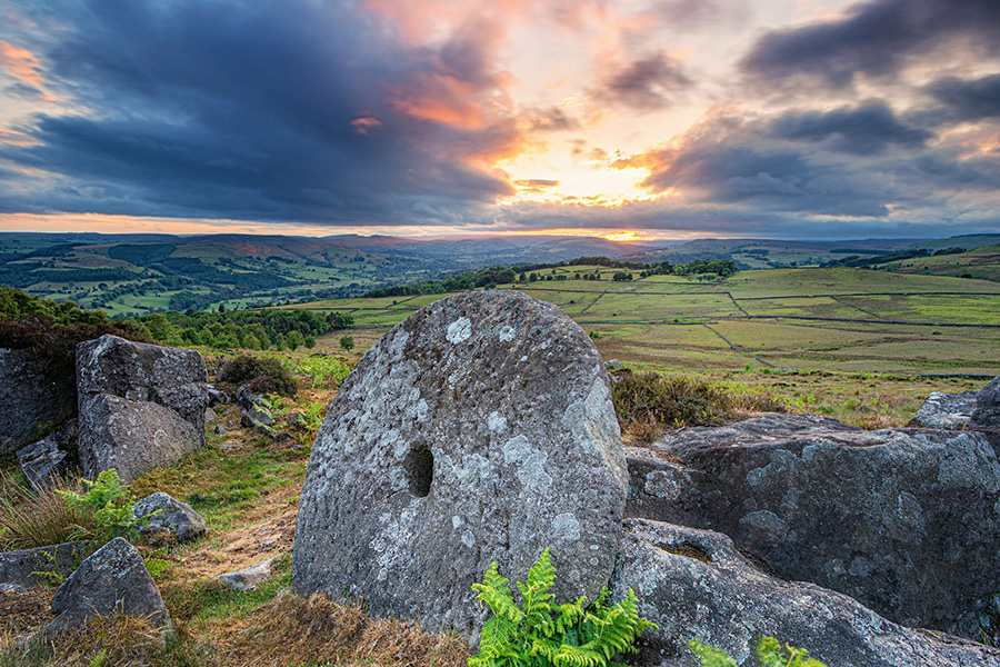 The Intriguing Millstones of the Peak District | Little Moor