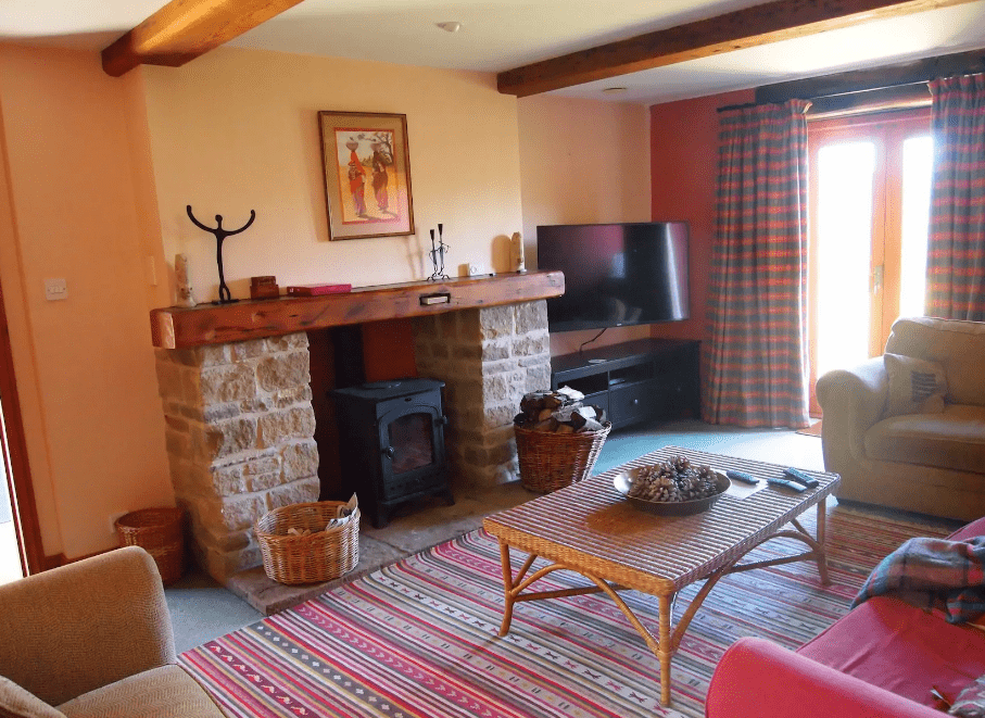 Peak District Holiday Cottages : Callow Barn, Hathersage