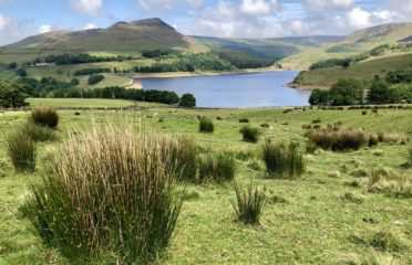 Beautiful Dove Stone Reservoir Walk
