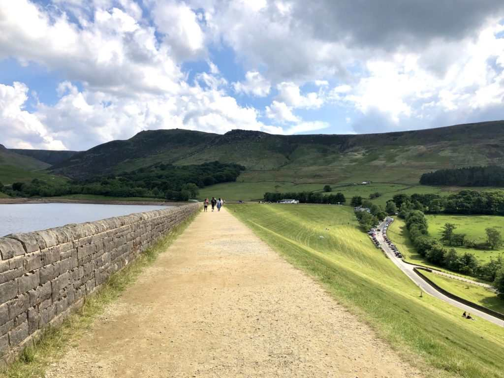 Beautiful Dove Stone Reservoir Walk