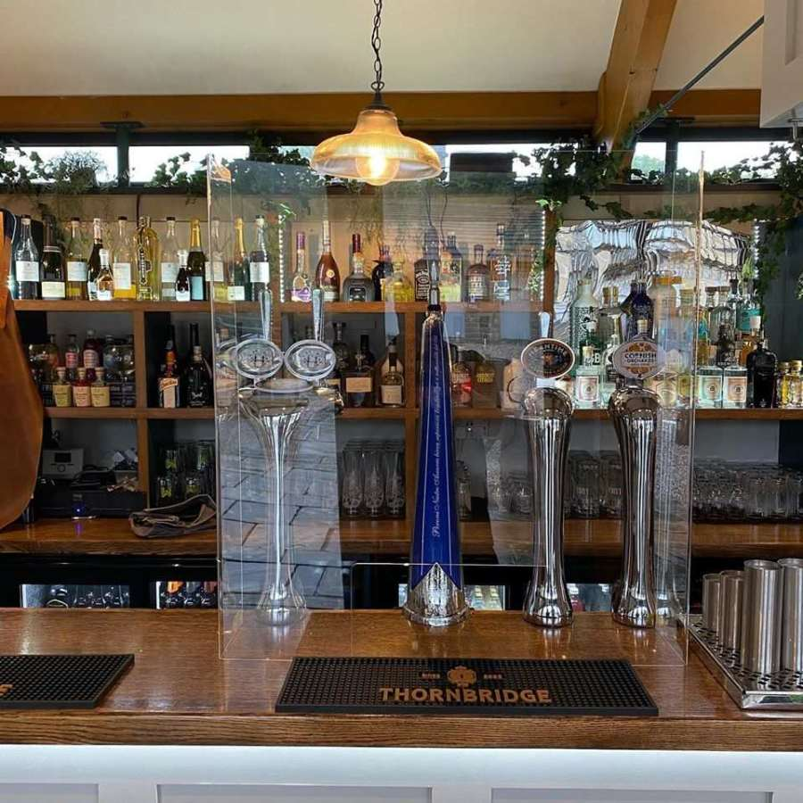 The Well-Stocked Bar at The Coolstone