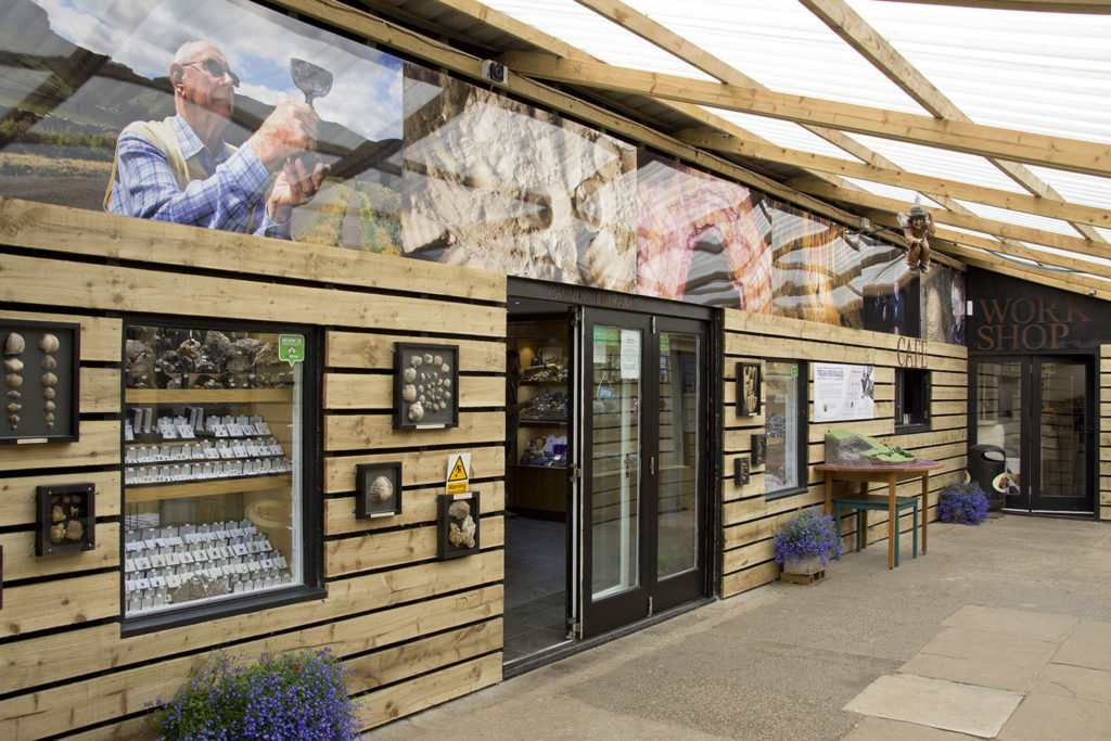 Gift Shop and Visitor Centre at Treak Cliff Cavern