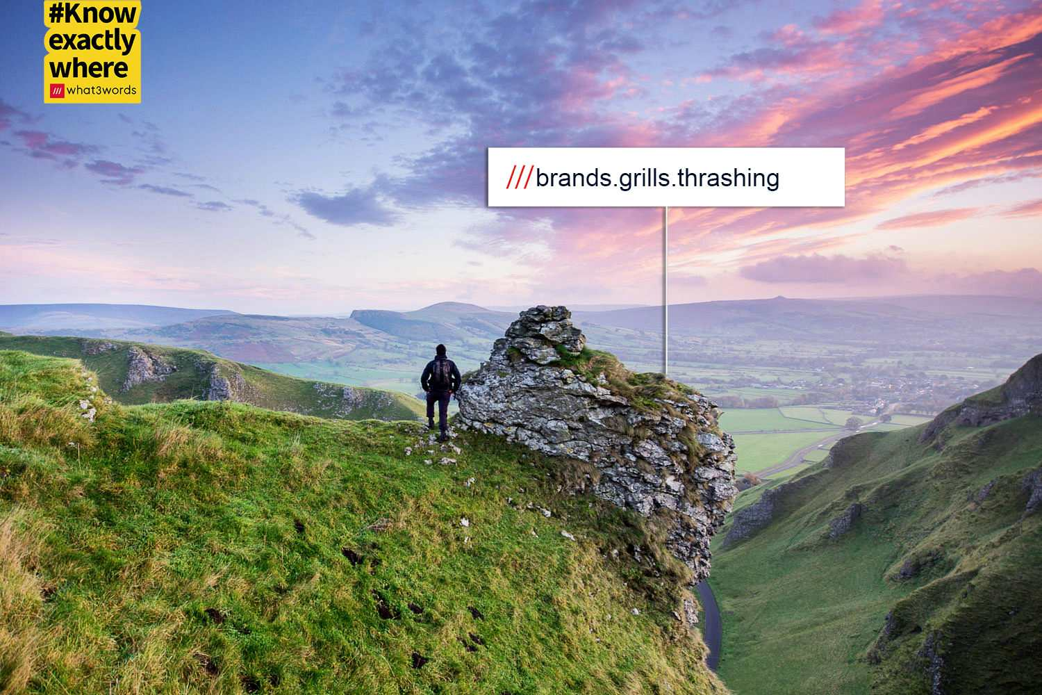 What3Words Peak District locations