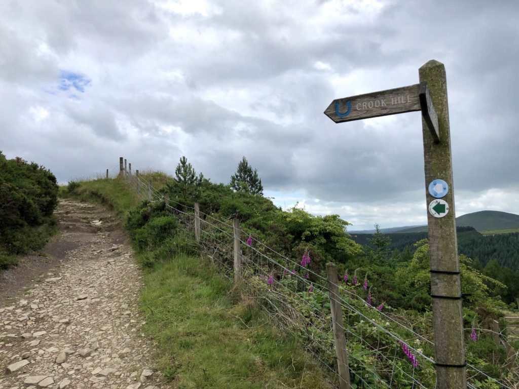Secret Side of Ladybower Walk : Crook Hill
