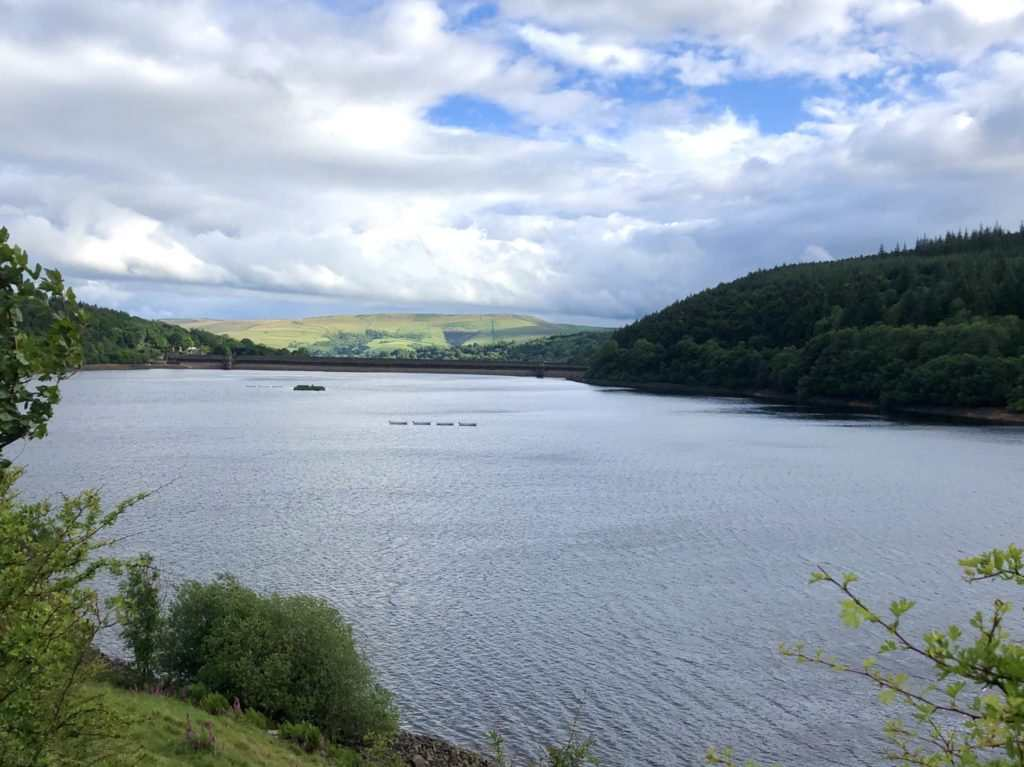Secret Side of Ladybower Walk : Ladybower Reservoir