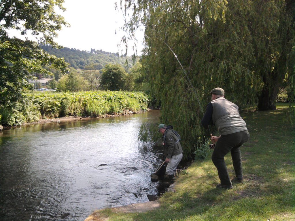 Fly Fishing - The Peacock at Rowsley