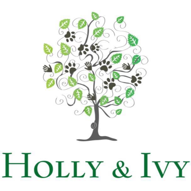 Holly and Ivy Pebble Art Shop