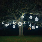 Chatsworth Christmas Lights on in Tier 3
