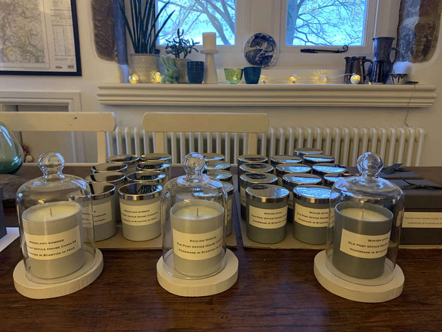 Old Post Office House Candles